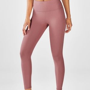 Fabletics  High-Waisted Powerhold 7/8 Orchid Smoke